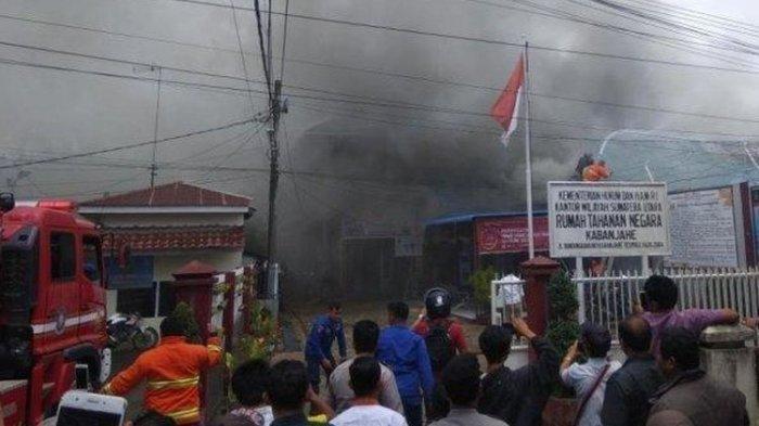 Warga Binaan Berteriak-teriak dan Bakar Kantor, Rusuh di Rutan Kabanjahe Akbat Provokasi 4 Orang Ini