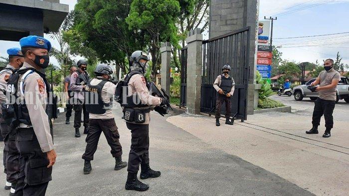 Personel Polda Kalteng Latihan Penanganan Orang Tak Dikenal untuk Antisipasi Teror