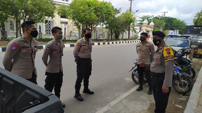 MK Bacakan Putusan Sengketa Pilkada Banjarmasin 2021, KPU Banjarmasin Dijaga Polisi