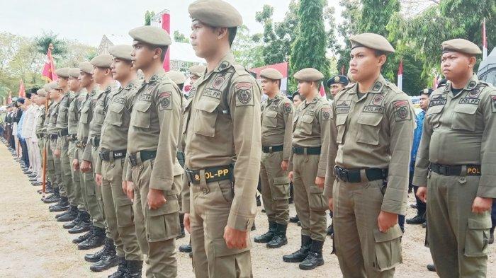 40 Personel Satpol PP Pemprov Kalteng Diberikan Pelatihan Khusus 20 Hari di SPN Tjilik Riwut