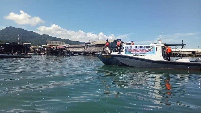 Satpolair Kotabaru Sisir Perkampungan, Kapal Nelayan dan Kapal Asing Terkait Virus Corona