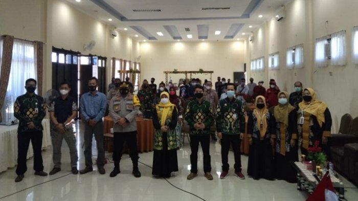 Amankan PSU Pilgub Kalsel, Polres Tapin Terjunkan 220 Personel, Kodim Rantau 60 Prajurit