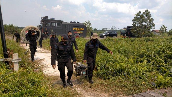 Kebakaran Lahan Mulai Terjadi, Polda Kalteng Siapkan Siagakan Ribuan Personel ke Lapangan