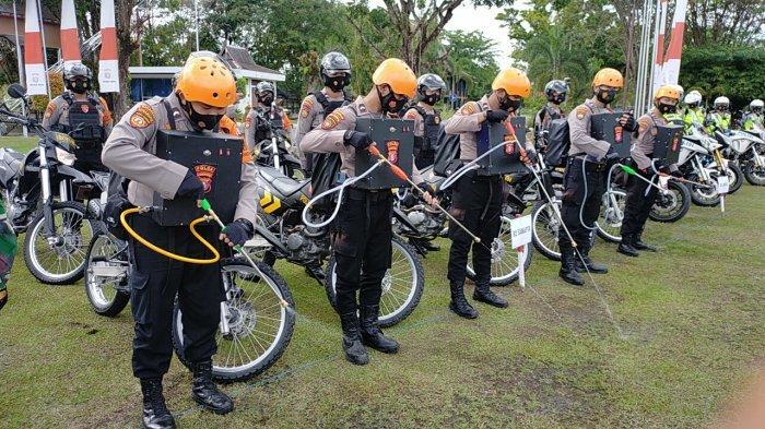 Peralatan dan Personil Polda Kalteng Disiapkan Untuk Tanggulangi Kebakaran Lahan