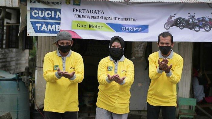Berdayakan Kelompok Difabel, Pertamina Diganjar Penghargaan Nusantara CSR Awards 2021