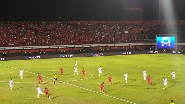 Pertandingan Indonesia vs Vietnam di Kualifikasi Piala Dunia 2022 zona Asia, Selasa (15/10/2019) di Gianyar.