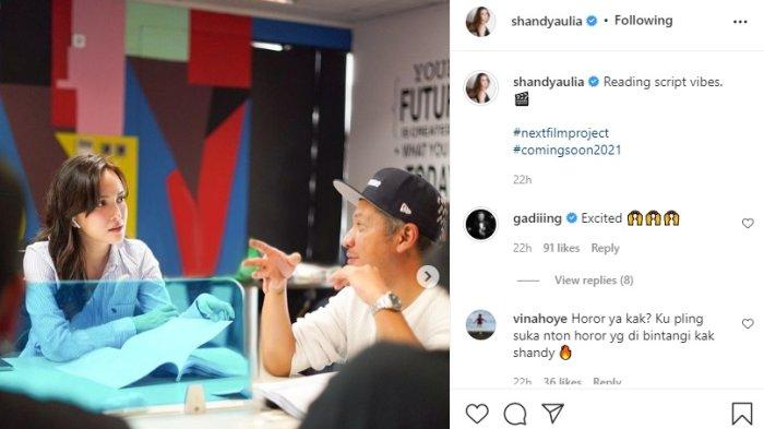 Pertemuan Shandy Aulia dan Gading Marten Usai Isu Cerai Mencuat, Kembali Bintangi Film Bersama