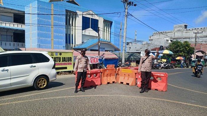 Jalan Satu Arah Pagatan Kabupaten Tanbu Akhirnya Dibuka Kembali