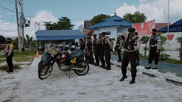 Polresta Palangkaraya Gencarkan Patroli di Masa Kampanye Pilkada Kalteng 2020