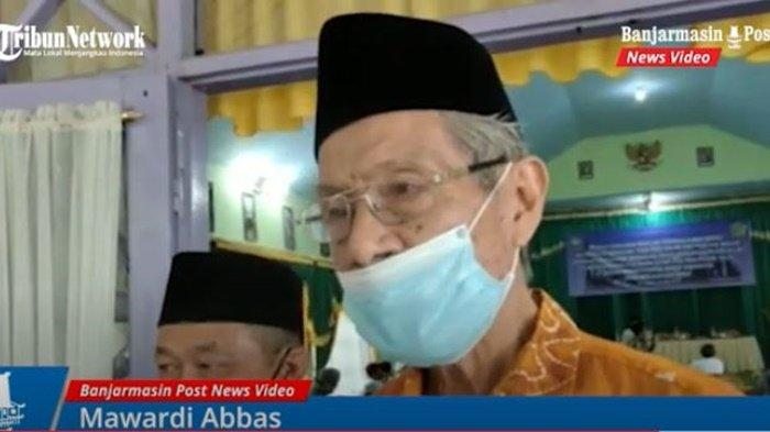 Perwakilan Forum Kerukunan Umat Beragama (FKUB) Kabupaten Banjar, Mawardi Abbas.