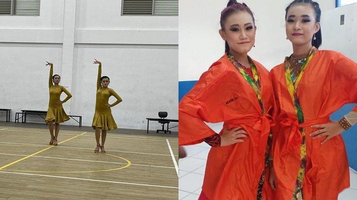 Tampil Memukau di Asian Couple Dance Championship 2021, Dua Siswi SMPN 2 Banjarbaru Cetak Prestasi
