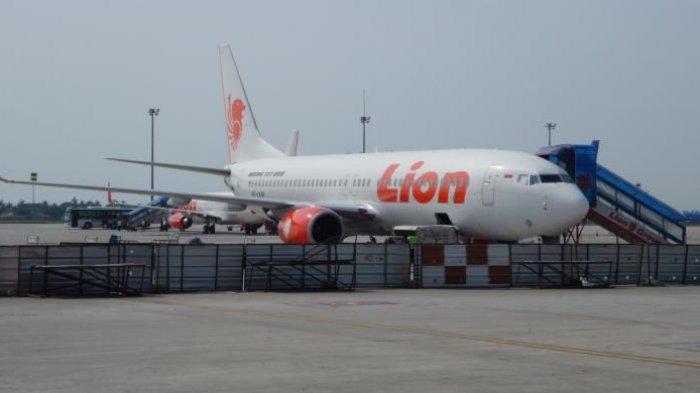 Sayap Pesawat Wings Air Patah Saat Bersenggelan dengan Lion Air di Bandara Kualanamu