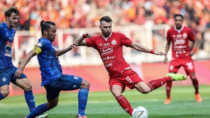 Link Live Streaming Persija vs PS Tira Persikabo Liga 1 2019, Siaran Langsung Indosiar & Vidio.com
