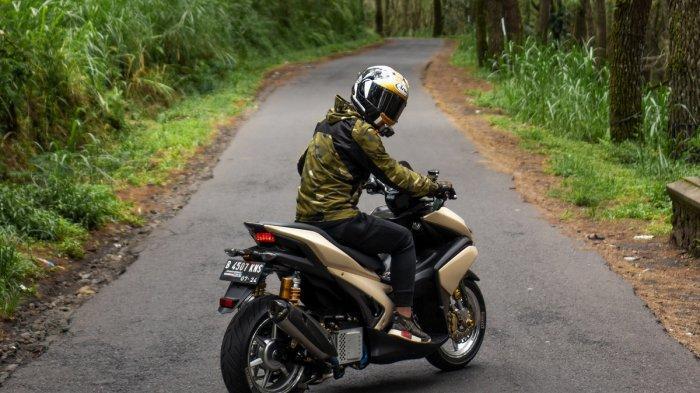 peserta dapat mulai membuat konten digital berupa foto dan video bersama motor Maxi Yamaha kesayangannya