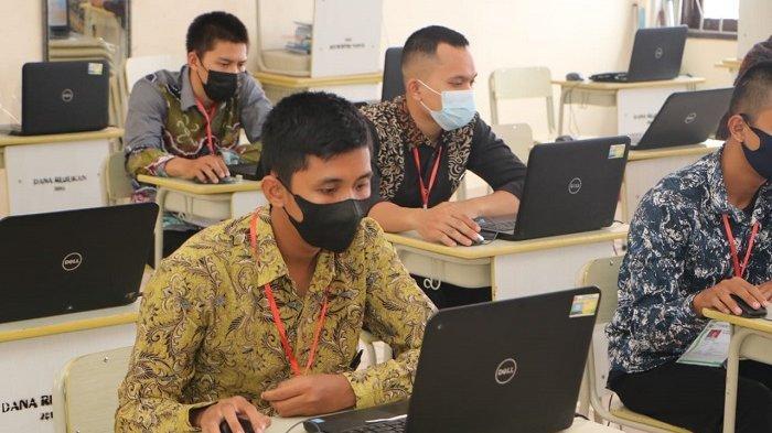 Seleksi Calon Tamtama Brimob dan Polair Polri di Polda Kalsel, 42 Peserta Jalani Tes Akademik
