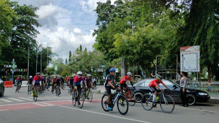 Tour de Loksado 2021, Sebanyak 250 Peserta Tempuh Jarak 150 Km, Start di Kiram Park Kabupaten Banjar