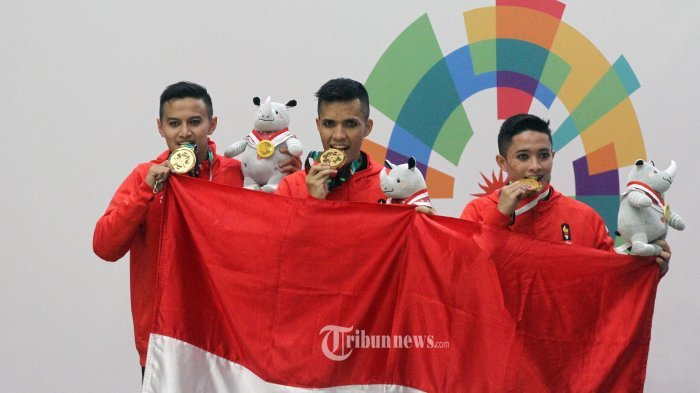 Perolehan Medali Asian Games 2018 - Hari Ini Indonesia Berpeluang Tambah 6 Emas, Ini Cabornya