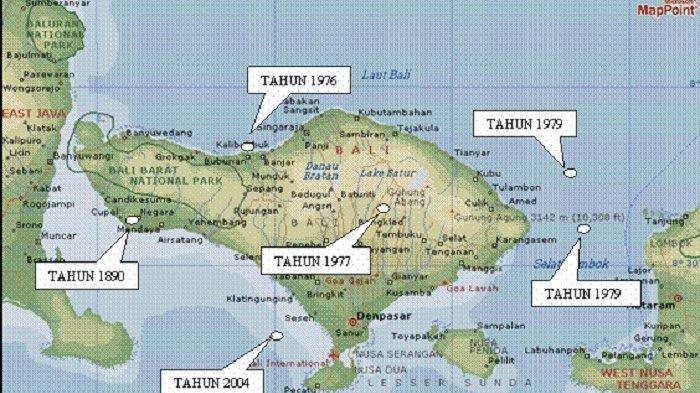 Gempa Ini Jadi Musibah Paling Merusak Sepanjang Sejarah Gempa di Bali, Segini Jumlah Korbannya
