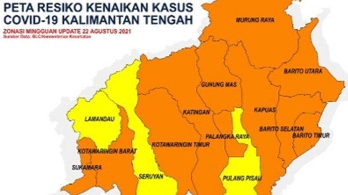 Kapuas Zona Orange, Ben Brahim Imbau Warga Terus Disiplin Prokes