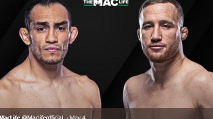 Live Streaming UFC 249, Tony Ferguson vs Justin Gaethje Menuju Laga Lawan Khabib Nurmagomedov
