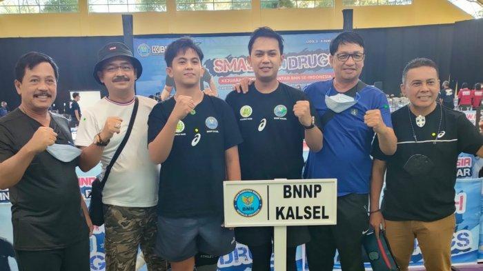 Petenis Meja BNNP Kalsel Raih Juara 3 Ganda Putra