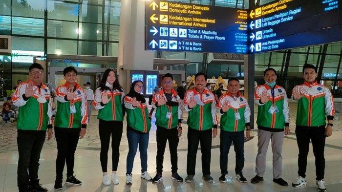 Bertolak ke Jakarta, Empat Petenis Meja Kalsel Ingin Persembahkan Medali