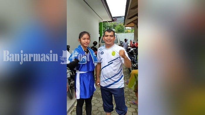 Popda Kalsel 2021, Petinju Banjarmasin Kumala Terisak Berhasil Raih Medali Emas