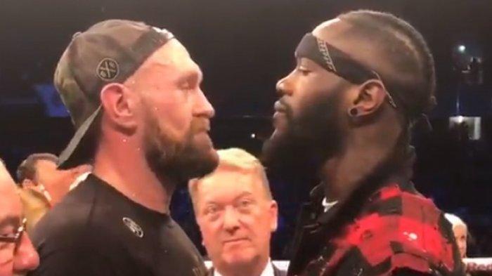 LINK TVOne! Live Streaming Mola TV Deontay Wilder vs Tyson Fury 2 Siaran Langsung Tinju Dunia WBC