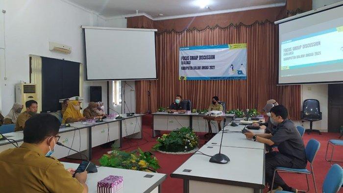 Terbitkan Data Daerah, BPS Kerja Sama dengan Kominfo dan Bappeda Kabupaten Balangan