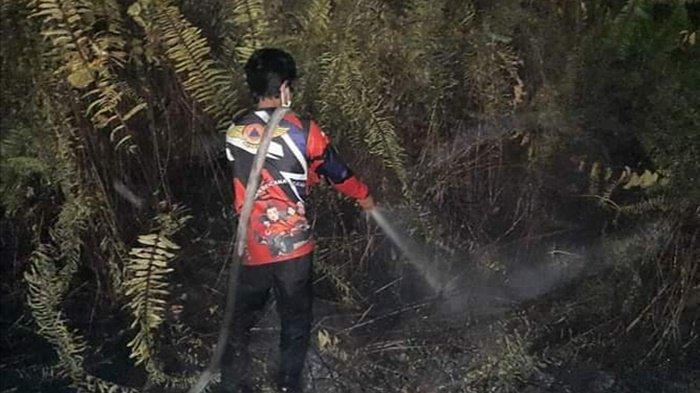 Karhutla Kalteng, Polisi Palangkaraya Giatkan Patroli Awasi Lahan Rawan Terbakar