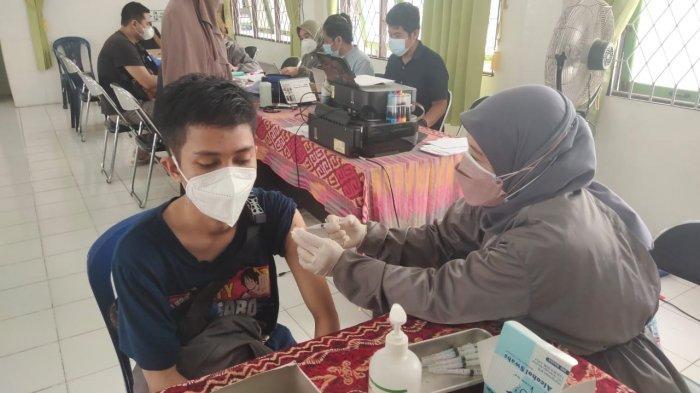 Rencanakan Geber Vaksinasi Pelajar, Dinkes Banjarmasin Alokasikan 1000 Vial Vaksin Covid-19