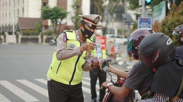 Ditlantas Polda Kalsel Genjot Sosialisasi E-TLE di Banjarmasin, Pengendara Diingatkan Soal Ini