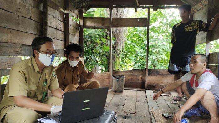 Pandemi, Permintaan Layanan Jemput Bola Dukcapil Balangan Tetap Tinggi
