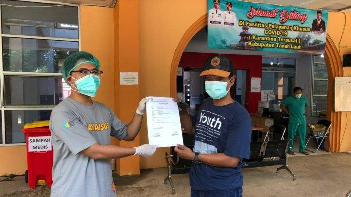 Dua Pasien Fasyansus di Tala Pulang, Dua Balita Masih Lanjut Jalani Isolasi