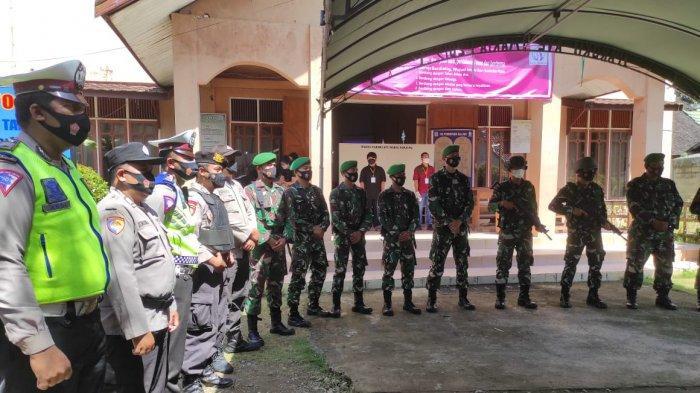 Petugas Gabungan Lakukan Pengamanan Ibadah Jumat Agung di Tabalong