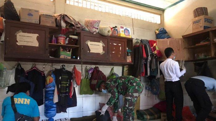 Penggeledahan Lapas di Kalsel, Rutan Tanjung Gelar Razia Gabungan ke Kamar Hunian Warga Binaan