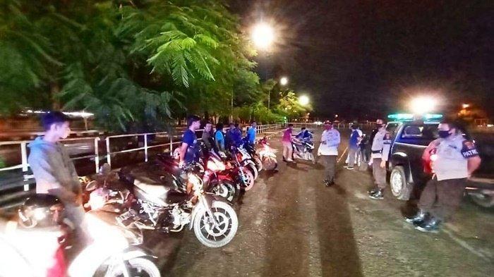 Balap Liar di Lapangan Murjani Banjarbaru, Polisi Amankan Segini