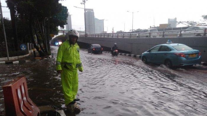 JAKARTA Banjir Lagi! TMC Polda Metro Jaya Mencatat Ada Genangan Air di Sejumlah Titik Ibu Kota RI