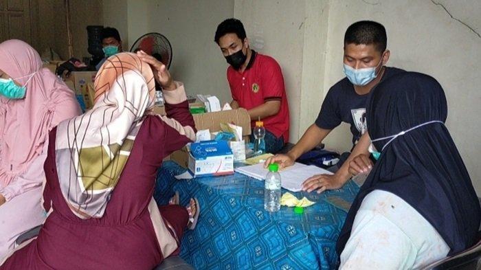 Banjir Kalsel, Posko Kesehatan Sering Terima Keluhan Nyeri Badan dan Gatal Korban Banjir di HST