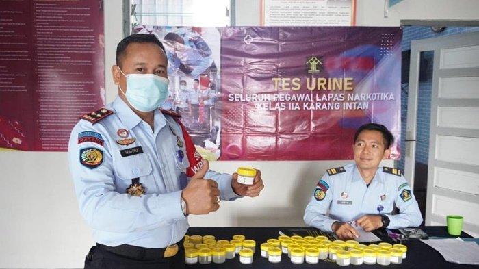 Sebanyak 124 Petugas Lapas Narkotika Karangintan Tes Urine, Hasil Negatif Semua