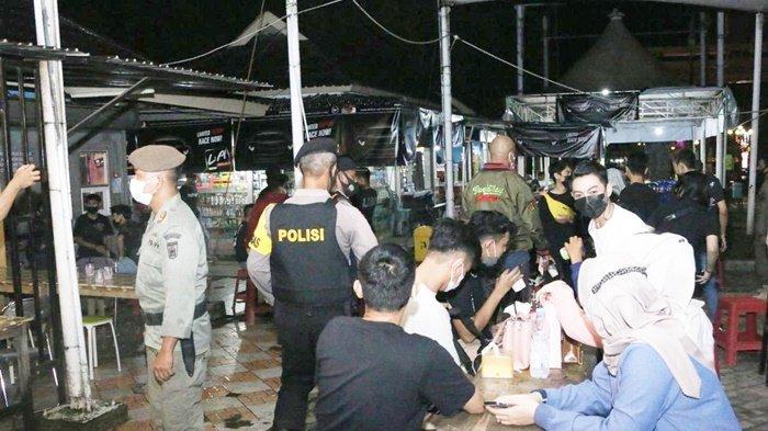 Langgar Prokes saat Forkopimda Banjarbaru Operasi Yustisi, 3 Kafe Kena Sansksi Ditutup