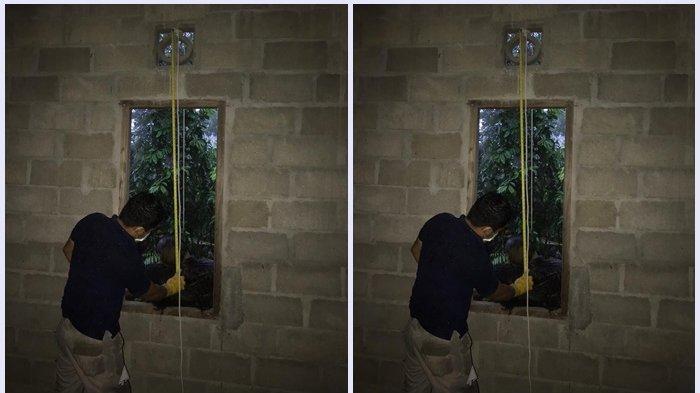BREAKING NEWS : Cium Bau Busuk, Warga Temukan Tubuh Warga Kaltim Ini Tergantung di Ventilasi Jendela