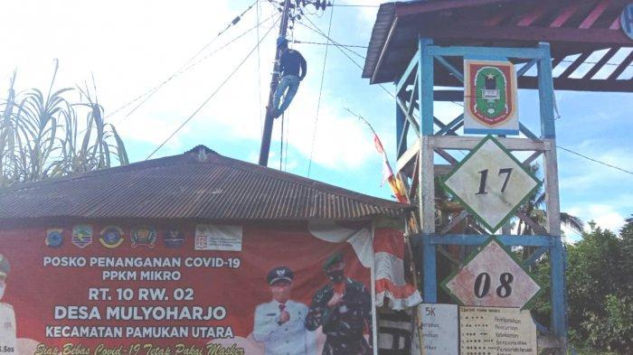 Warga Mulyoharjo Kotabaru Senang Meski Pemasangan PJU Belum Semua Rampung