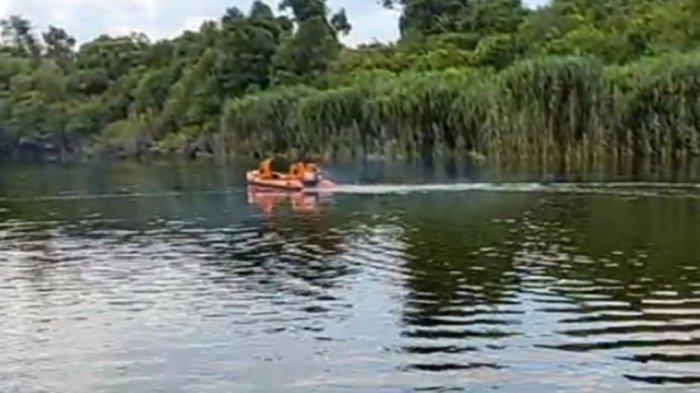 Penumpang Kelotok Menghilang di Sungai Rungan Palangkaraya Setelah Bongkar Muat Barang