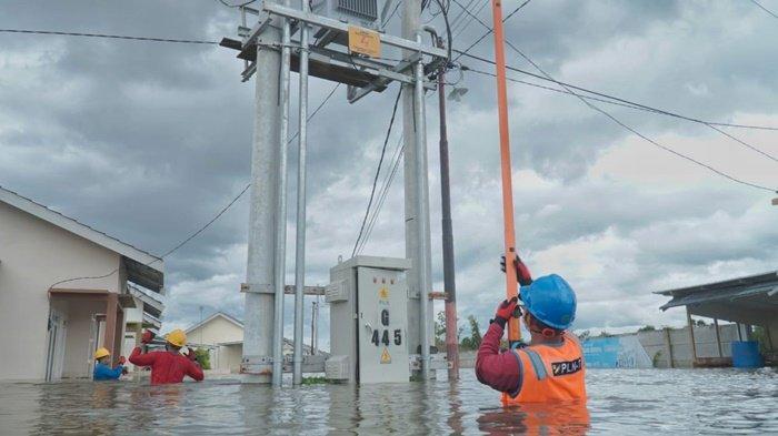 PT PLN Berhasil Pulihkan 426 Gardu Terdampak Banjir di Kalsel