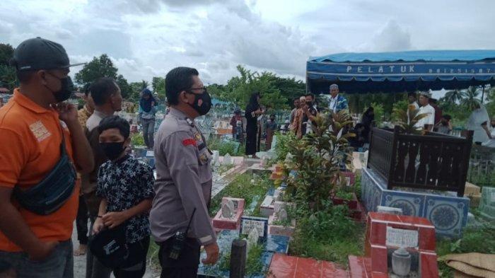 Pemakaman Jenazah di TPU Palangkaraya Sempat Gaduh Gara-gara Tali Pocong