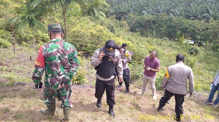 Area Penemuan Mortir di Gunung Damarwulan PTPN Tanahlaut Langsung Disisir, Warga Diimbau Hati-hati