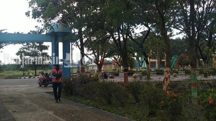 KalselPedia - Kawasan Rantau Baru Kabupaten Tapin Sering Jadi Sasaran Operasi Yustisi