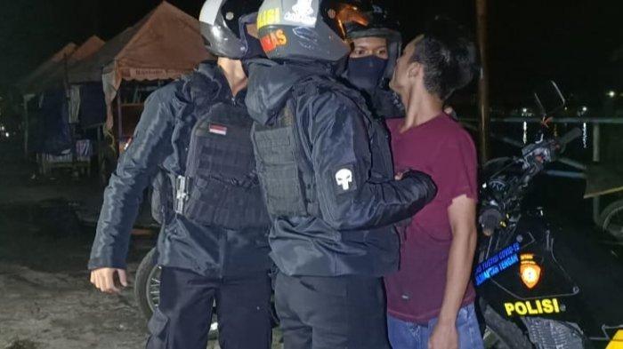 Narkoba Kalteng, Kedapatan Buang Sabu di Jalan, Sopir Angkutan Sembako Diringkus Petugas Patroli