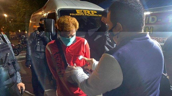 Kepergok Mabuk Miras, Dua Pemuda Mendawai Palangkaraya Kalteng Ini Diamankan Polisi